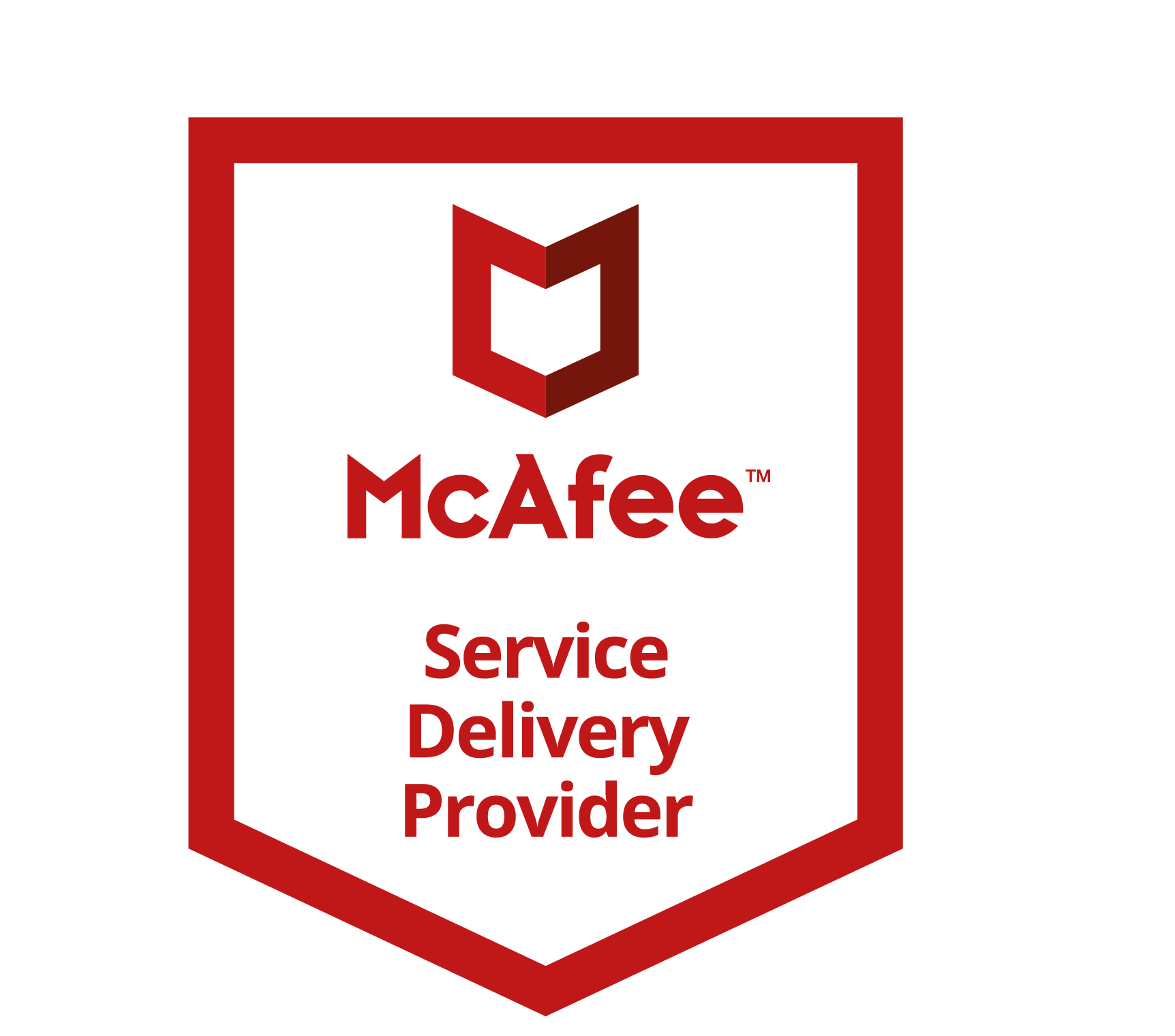 McAFEE SERVICE DELIVERY PROVIDER RGB
